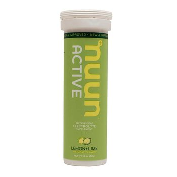 Nuun Hydration Lemon Lime Drink Tablet Tube-12 Tabs
