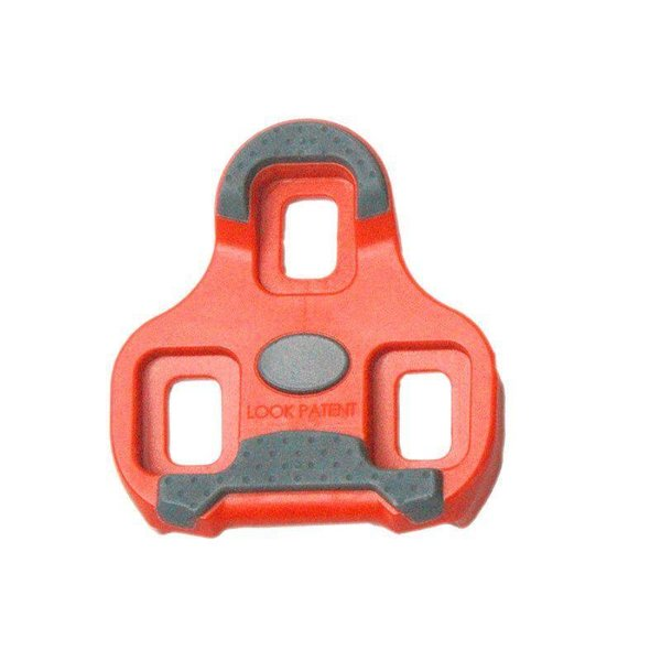 Look Keo Grip Cleats-9 Degree Float-Red