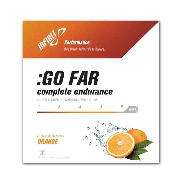 Infinit Go Far Energy Drink Bag - Orange 18Serv - 45 oz