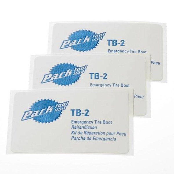 Park Tools Tire Boot, 3/Card Tb-2C