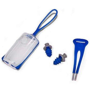 Aqua Sphere Silicone Ear Plugs - Blue
