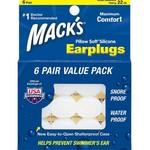 Macks Pillowsoft Swim Ear Plugs 6 Pair