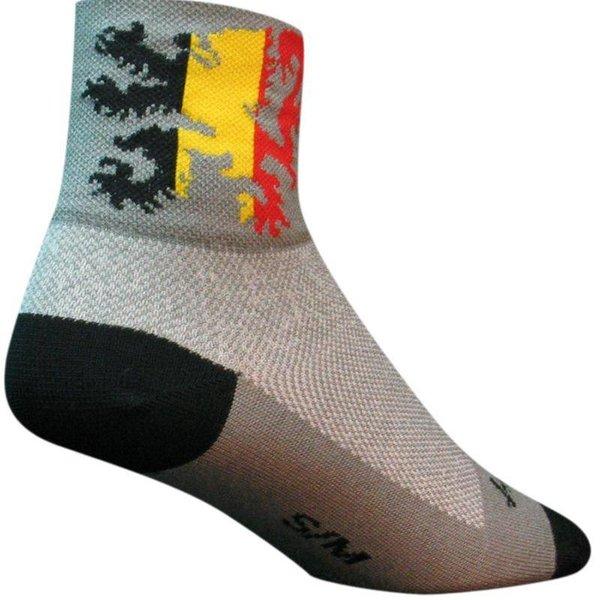 Sock Guy Mens Lion Of Flanders Classic Socks