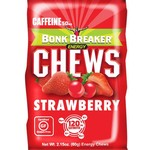 BONK BREAKER Strawberry With Caffeine Chews Box - 10 Ct