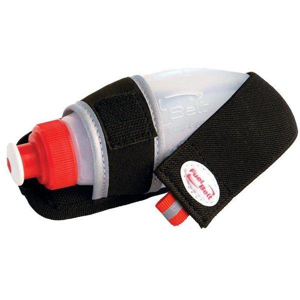 Fuelbelt Gel Flask Holder - Clip - Clear/Black - 6OZ