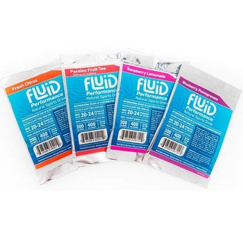 Fluid Performance Variety Pack Box - 8Ct