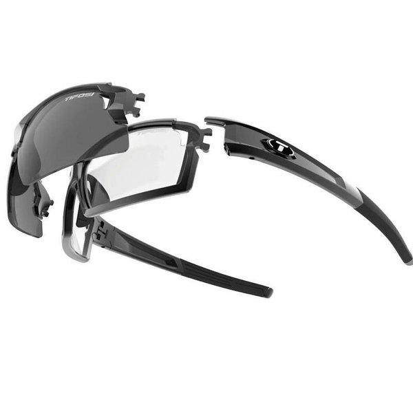 Tifosi Escalate F.H. Mate Black Sunglasse- Ln Fototec Lens