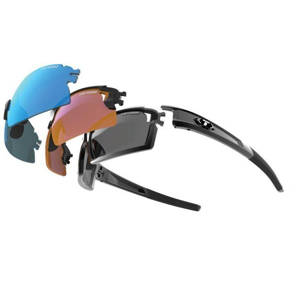 Tifosi Escalate S.F.H Gls Black Sunglasse - Smoke 3 Lens