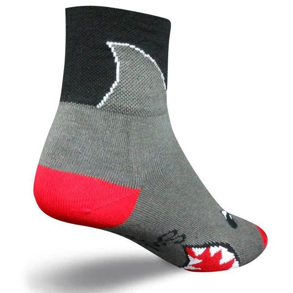Sock Guy Mens Shark Classic Cycling Socks