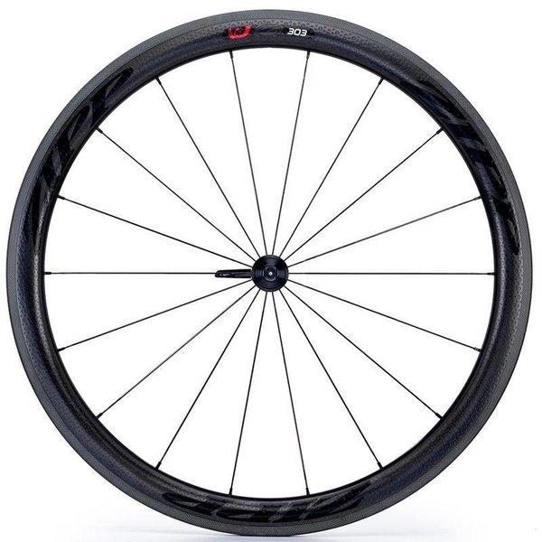 ZIPP 303 Firecrest Front Clincher Wheel  Black Decl