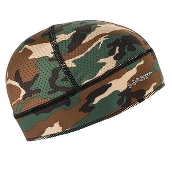 Halo Skull Cap Only With Mesh Top -Camo/Green
