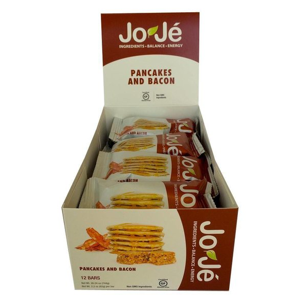 Joje Pancakes and Bacon Bars - 12Ct