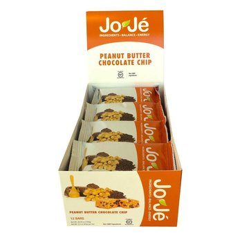 Joje Peanut Butter Chocolate Chip Bars - 12Ct