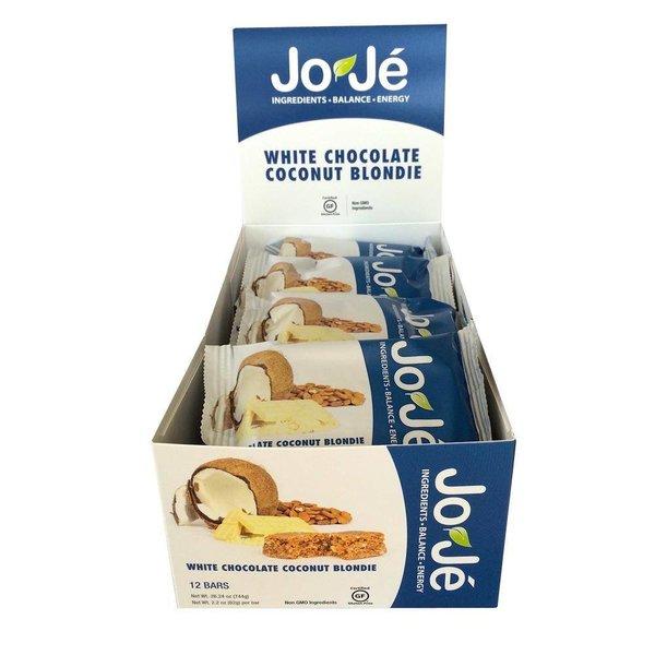 Joje White Choc. Coconutblondie Bar Box -12Ct