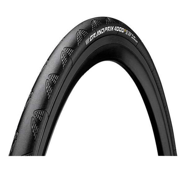 Continental Grand Prix 4000 S Ii Clincher Tire Black