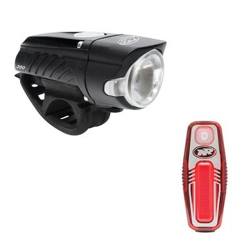 Niterider Swift 350/Sabre 50 Combo Bike Lights - Pair