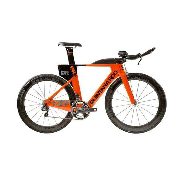 QUINTANA ROO PRsix Ultegra Di2 Triathlon Bike - Race Wheels