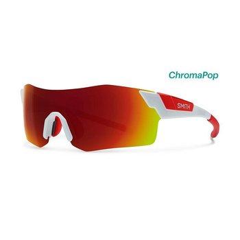 Smith Pivlock Arena-White/Red Sunglasses
