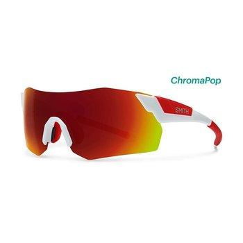 Smith Pivlock Arena Max White/Red Sunglasses