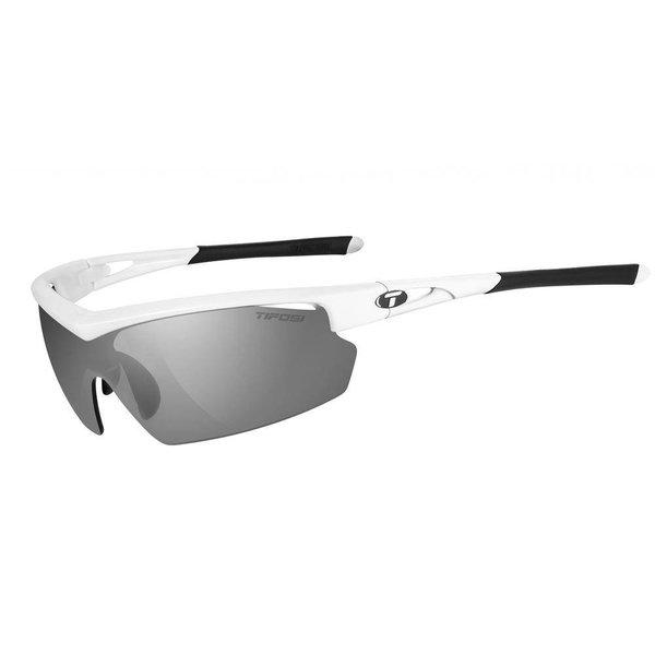 Tifosi Talos Pearl White Sunglasse - Red Clr Lens