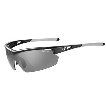 Tifosi Talos Race Silver Sunglasse -Smoke Red Clr Lens