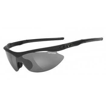Tifosi Slip Matte Black Sunglasse - Smoke Clear Lens