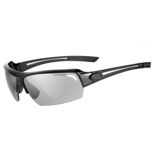 Tifosi Just Gloss Black Sunglasse - Smoke Polar Lens