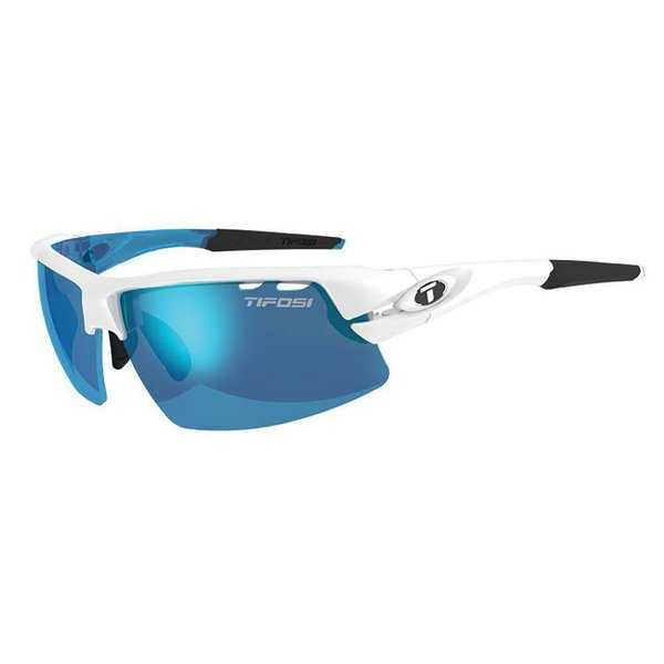 Tifosi Crit Skycloud Clarion Blue v - Ac Red Lens