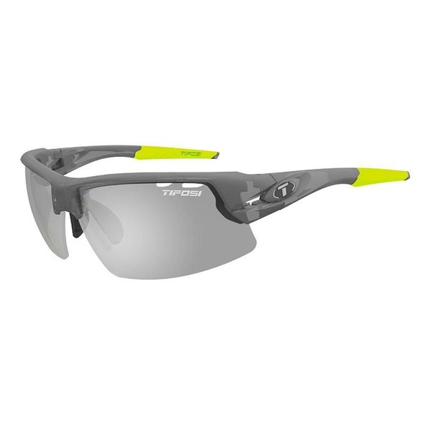 Tifosi Crit Matte Smoke Smoke Sunglasse - Fototec Lens