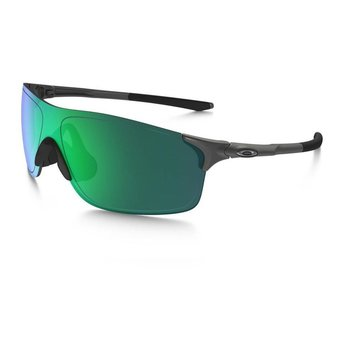 Oakley EV Zero Pitch Steel Sunglasses  -  Jade Iridium