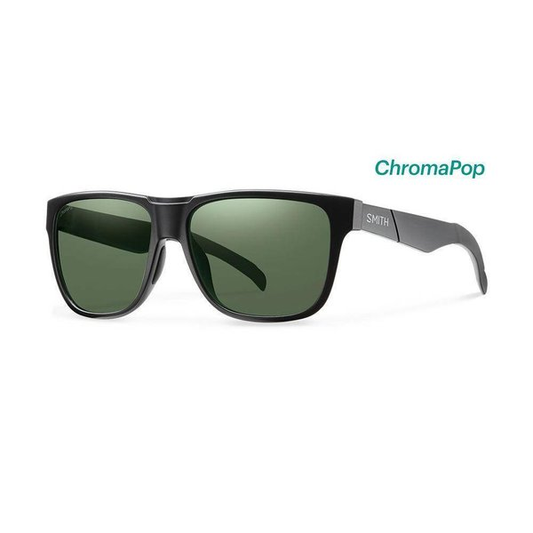 Smith Lowdown Matte Black Sunglasses