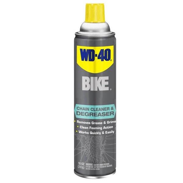 WD-40 Bike Chain Cleaner Degreaser 10OZ