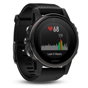 Garmin Fenix 5S Sapphire Black GPS Watch - Black Band