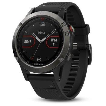 Garmin Fenix 5 Slate Gray GPS Watch - Black Band