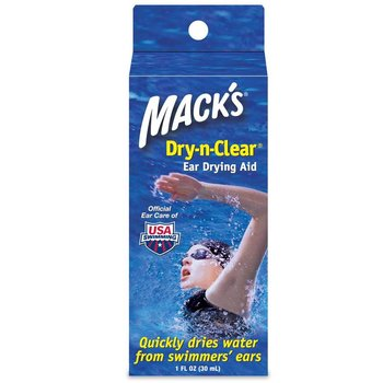 Macks Dry-N-Clear Swim Ear Drying Aid 1 OZ