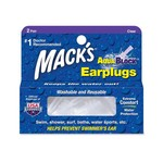 Macks Aquablock Swim Earplugs 2 Pair
