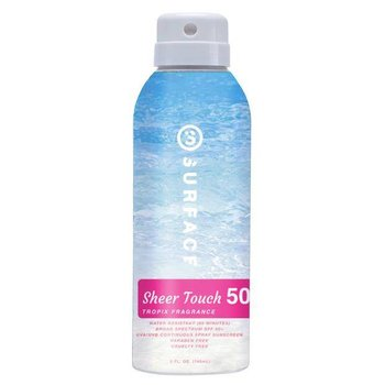 Surface Sheer Touch Tropix Spray - Spf50