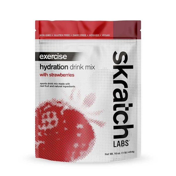 Skratch Exercise Strawberry Mix Bag