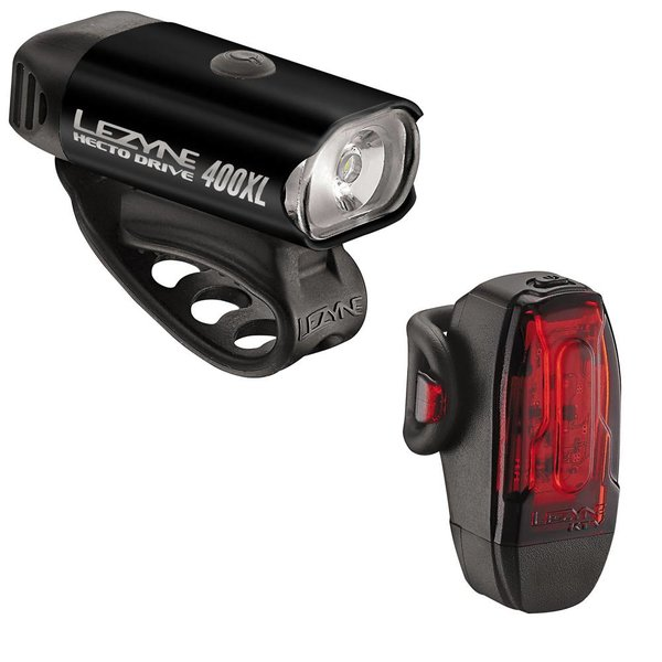 Lezyne Hecto Drive 400XL/KTV Pair Combo Lights