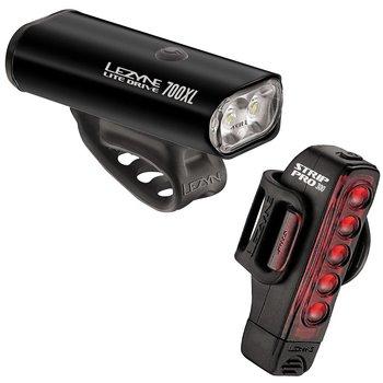 Lezyne Lite Drive 700XL/Strip Pro Pair Combo Lights