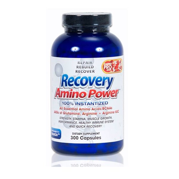 CarboPro Recover Amino Power Capsules 300 Ct