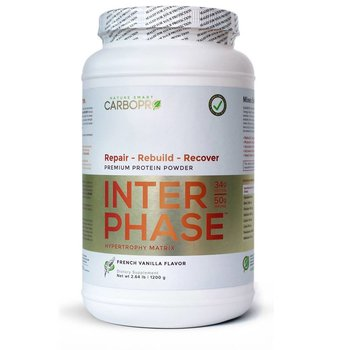 CarboPro Interphase Vanilla Powder - 2.6 Lbs