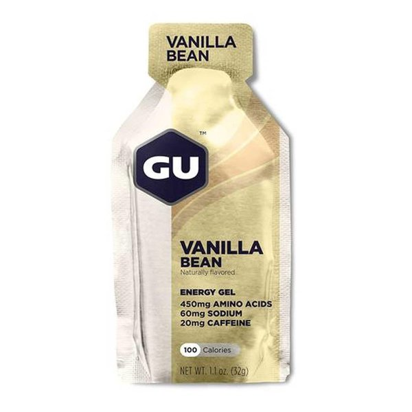 Gu Vanilla Bean Gel Box 24Ct