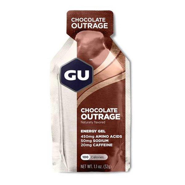 Gu Chocolate Outrage Gel Box 24Ct