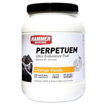 Hammer Nutrition Perpetuem Endurance Orange-Vanilla Drink Mix - 16 Servings