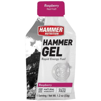 Hammer Nutrition Hammer Raspberry Gel Box - 24 Ct