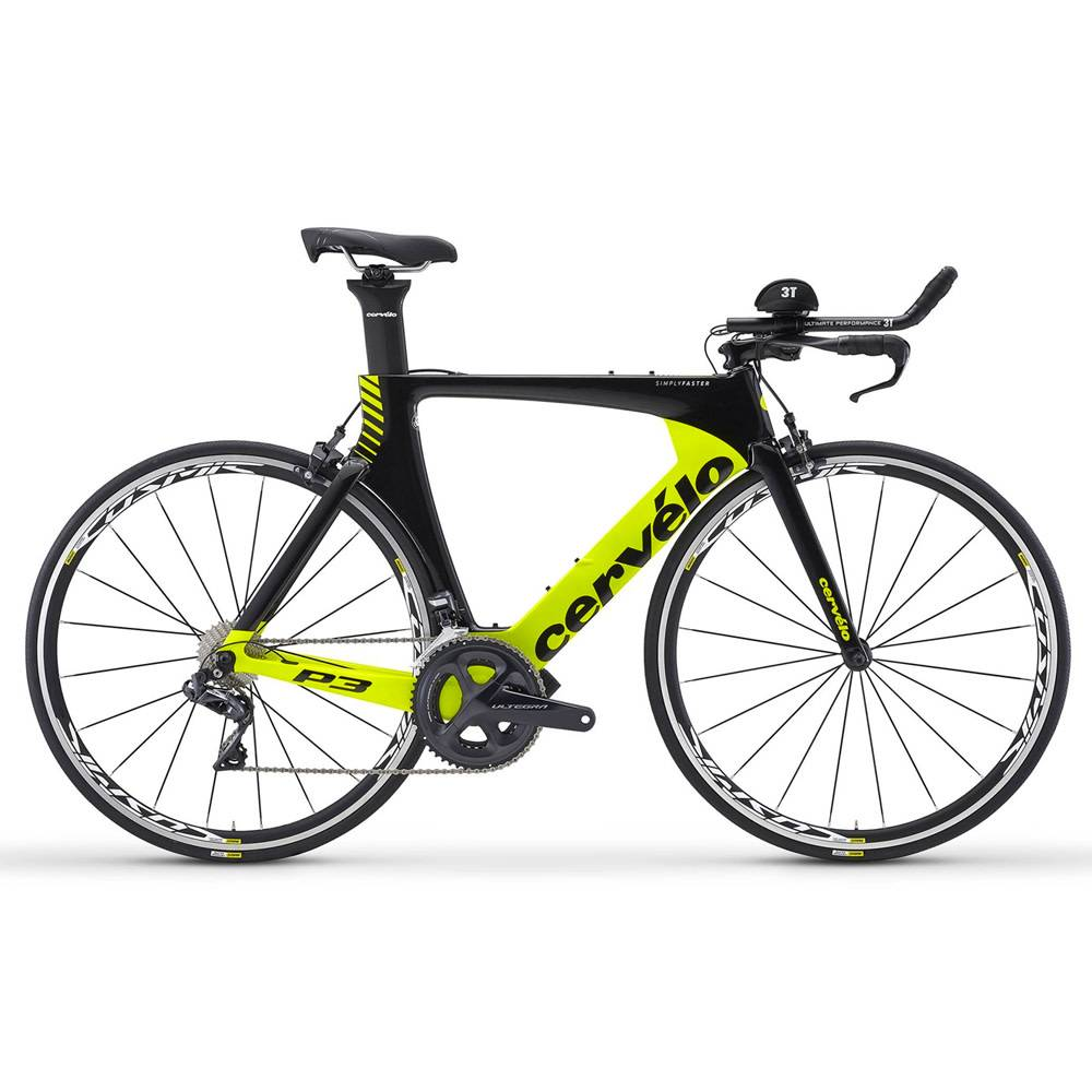 2018 Cervelo P3 Ultegra Di2 Triathlon Bike Nytro Multisport