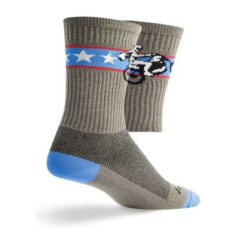 Sock Guy Wheelie Crew Socks