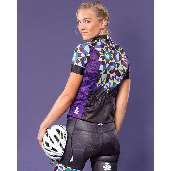 Betty Designs Kaleidoscope Cycle Jersey - Womens