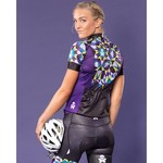 Betty Designs Kaleidoscope Cycle Bib Short - Womens